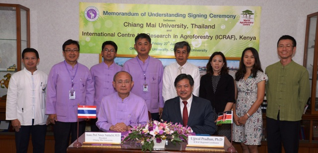 Collaboration agreement extended with Chiang Mai University
